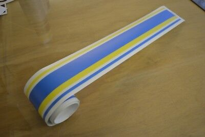 BAILEY Discovery Caravan Multi Stripe Sticker Decal Graphic - 1 OR 2 METRE