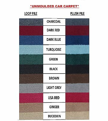 CAR CARPET BY THE METRE ( 1 Metre wide )