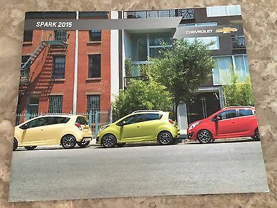 2015 Chevy Spark 24-page Original Sales Brochure
