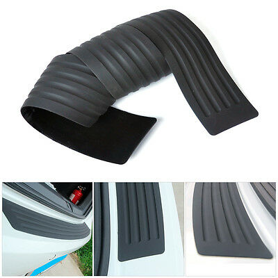 Rear Rubber Bumper Protector Trim Cover For VW Benz Audi BMW Mazda Chevrolet