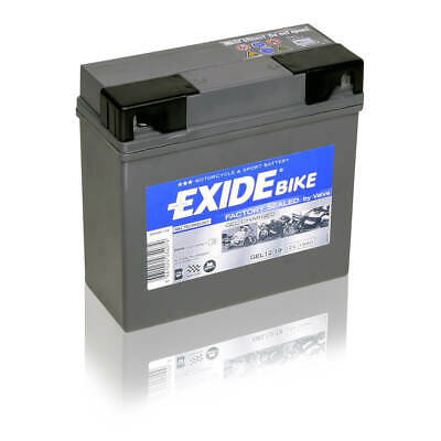 19Ah 12V Gelbatterie Exide Bike Gel G19 BMW Batterie ABS