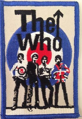 """The Who Target Band Patch 2.5""""x3.5"""""""