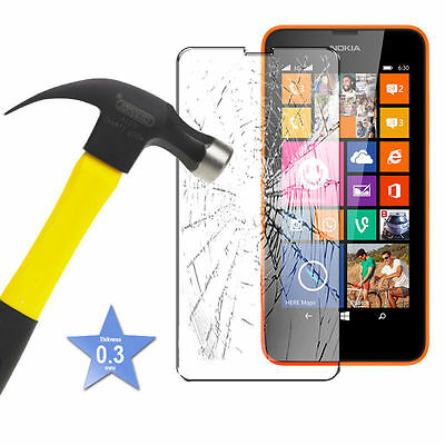 Screen Protector Tempered Glas for Nokia Lumia 635 625 Anti Shock Shatter Proof