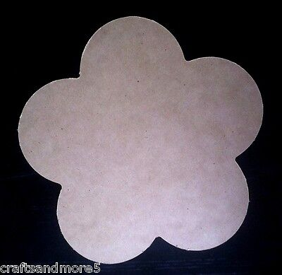 DIY Unfinished MDF Wood / Wooden Large Daisy/Flower Shape ~ 28cm