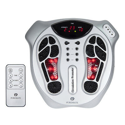 PureMate Foot Circulation Massager with Infrared Light & Remote PM605