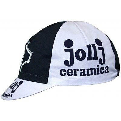 Brand new Saeco Cannondale Cycling cap Italian made Retro fixie