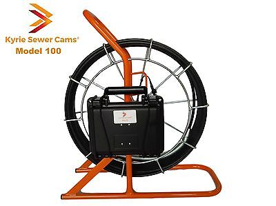 Kyrie Sewer Cam 100 ft, pipe inspection camera, USA made, 100'