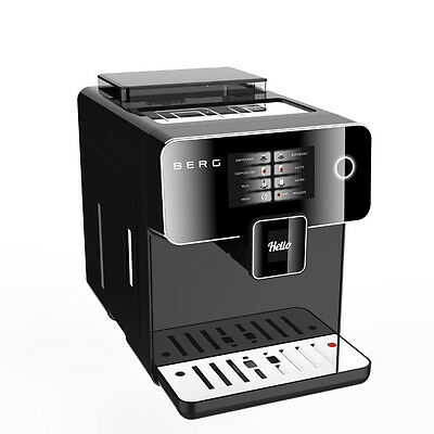 BERG Toccare Uno B one touch automatic bean to cup coffee machine. RRP £695.