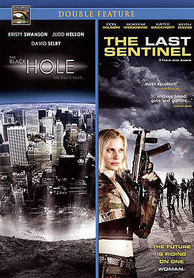 The Black Hole/The Last Sentinel (DVD, 2009) Double Feature, NEW