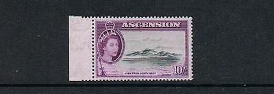 STAMPS  from  ASCENSION  1956 Q. ELIZABETH  II   10/-  (MVVLH)  lot  A 49