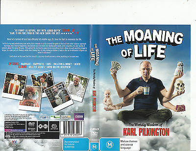 The Moaning of Life:Karl Pilkington-2013-TV Series UK-5 Episodes 2 Disc-DVD