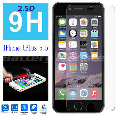 """New Premium Real Tempered Glass Film Screen Protector for Apple 5.5""""iPhone 6plus"""