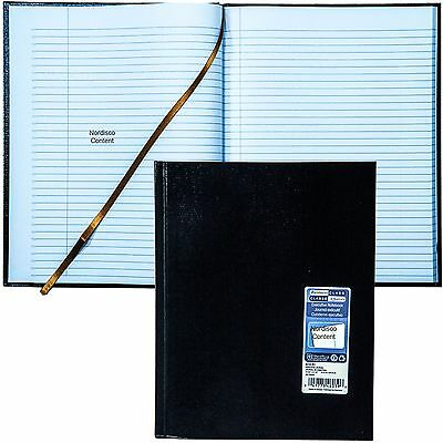 """Blueline A10.81 Executive Journal Notebook, 10-3/4 x 8-1/2"""", 150 Pages"""