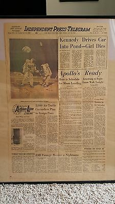 collectable newspaper headlines1944 - 1975