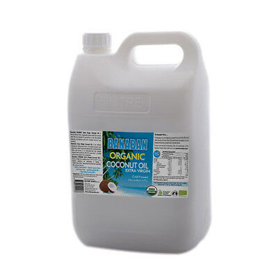 BANABAN Organic Extra Virgin Coconut Oill 5 Litre Jerry Can