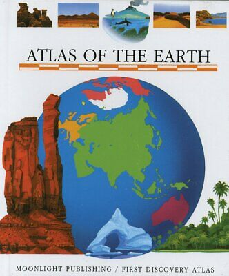 Moonlight Atlas of the Earth- Children's First Discovery Acetate Learning Book
