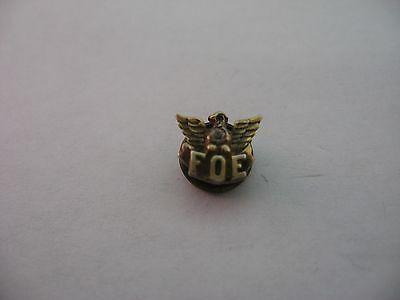Beautiful Design Antique FOE Fraternal Order of Eagles Pin Award
