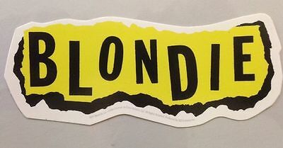 "The Blondie Logo Sticker 6""x2.5"""
