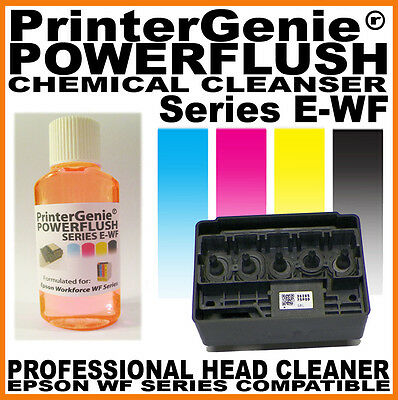 Printhead Cleaner for Epson Workforce WF2630 / 2640 / 2650 : Nozzle Unblock Kit