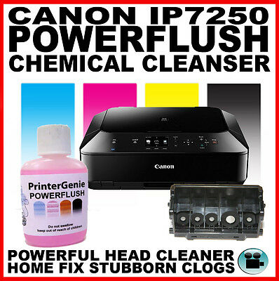 Canon Pixma iP7250: Head Cleaning Kit -  Nozzle Cleanser : Printhead Unblocker