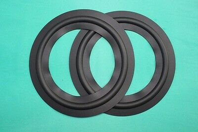 2 pieces 8 inch Rubber SPEAKER SURROUNDS REPAIR for TANNOY Woofer bass speaker
