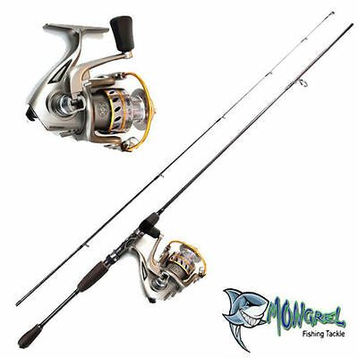 Rod & Reel Combo, Fishing combo, spinning rod & reel, Great Value GWMA2000 REEL