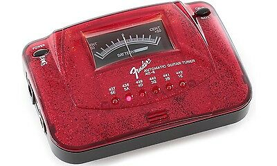 FENDER Accordeur AG-6 Automatic Guitar Tuner - Red Sparkle
