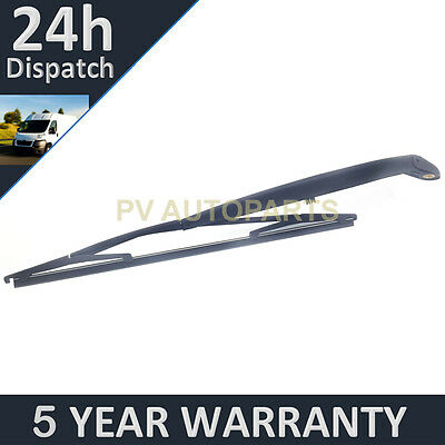 """For Fiat Croma 15"""" 380Mm (2005-2011) Rear Wiper Arm + Blade Kit"""