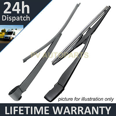 For Chrysler Grand Voyager 2008- Rear Back Windscreen Window Wiper Blade Arm Kit