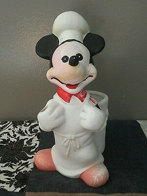 The Walt Disney Co. Ceramic Mickey Mouse Toothbrush Holder