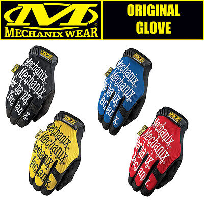 Genuine Original Mechanix Gloves Motor Sport Mechanics FREE UK POSTAGE