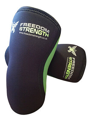 PAIR Knee Sleeves 7mm PAIR for crossfit strongman power lifting weight lifting