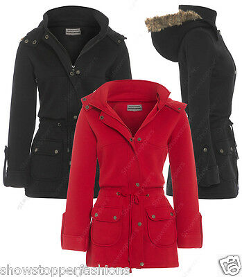 NEW GIRLS JACKET COAT HOODED FLEECE Girls School CLOTHING AGE 7 8 9 10 11 12 13