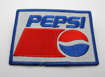 "Vintage Logo Design New PEPSI Patch 4"" x 2-5/8"" Iron or Sew on"