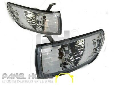 Nissan Silvia S13 PAIR Clear Corner Indicator / Park Light BRAND NEW Lamp