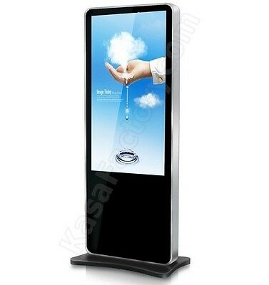 Kiosk Display 46 INCH Full HD Interactive Shopping Mall Advertising Touch Screen
