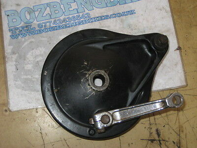 Honda VT500 Rear Brake Back Plate With Shoes & Actuating Lever
