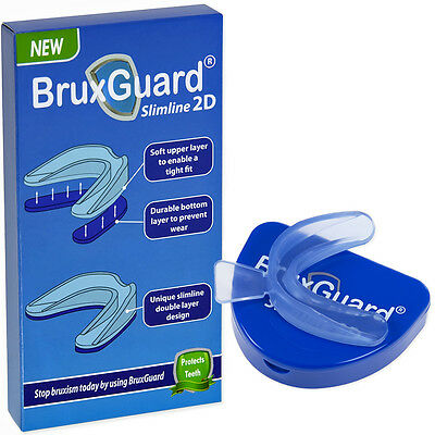 BruxGuard Slimline 2D Bruxism Mouthpiece. Stops Teeth Grinding During Sleep