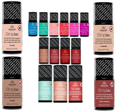 alessandro Striplac Nagellack 8ml Alle Farben Collection 2015   -SONDERAKTION-
