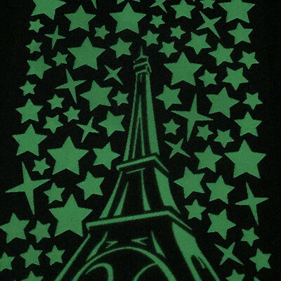 Wall Stickers Glow in The Dark Luminescent Eiffel Tower Home Wall Art Decor DIY
