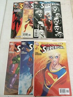 Supergirl 1 2 3 4 5 6 DC Run Lot VF/NM 2005