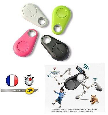 mini tracker gps bluetooth chien chat collier porte clef pour smartphone android