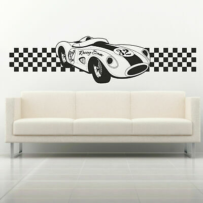 Finish Line Running Sports Wall Sticker WS-15751