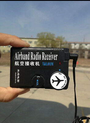 New 118MHz-136MHz air band radio, aviation band receiver