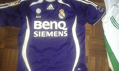 Real Madrid Benq Age 16 Camiseta Futbol Football Shirt