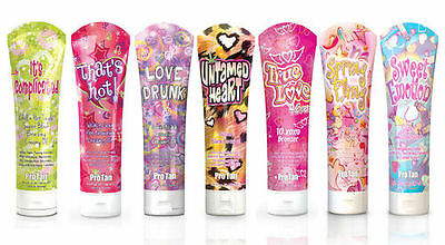 Pro Tan Sunbed Dark Tanning Accelerator Lotion - Love Me Collection 280ml & 22ml