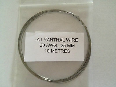 A1 kanthal Wire 20 TO 32 (AWG). Resistance Coil Wire RBA RBD Atomiser 2M TO 25M