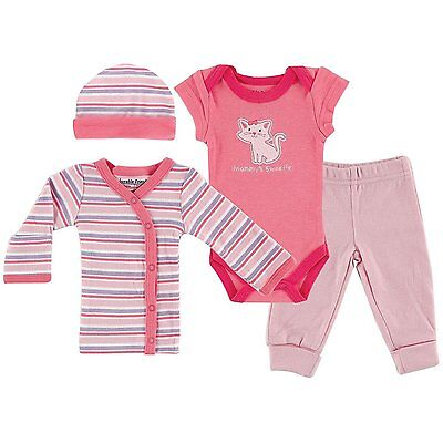 Premature Baby Layette Set Boys Blue Girls Pink Preemie Cotton - Luvable Friends