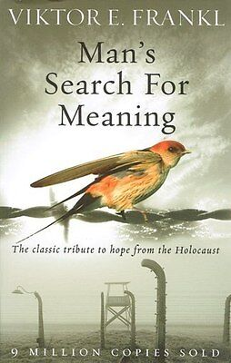 Man's Search For Meaning by Viktor E. Frankl NEW