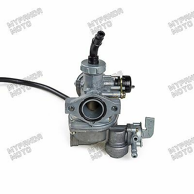 22mm PZ22 Carburetor With Cable And Petcock Carb Honda Trail CT110 1980-1986